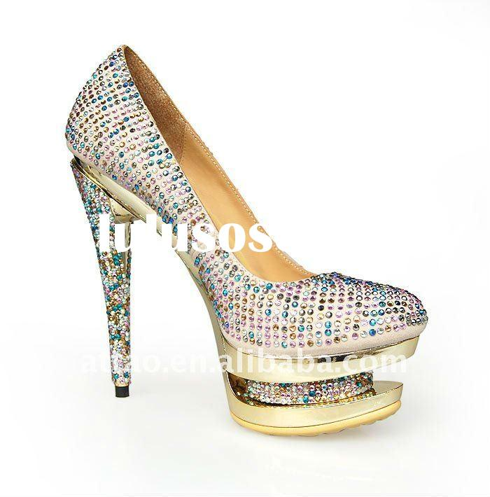 large size high heels / double platform heels