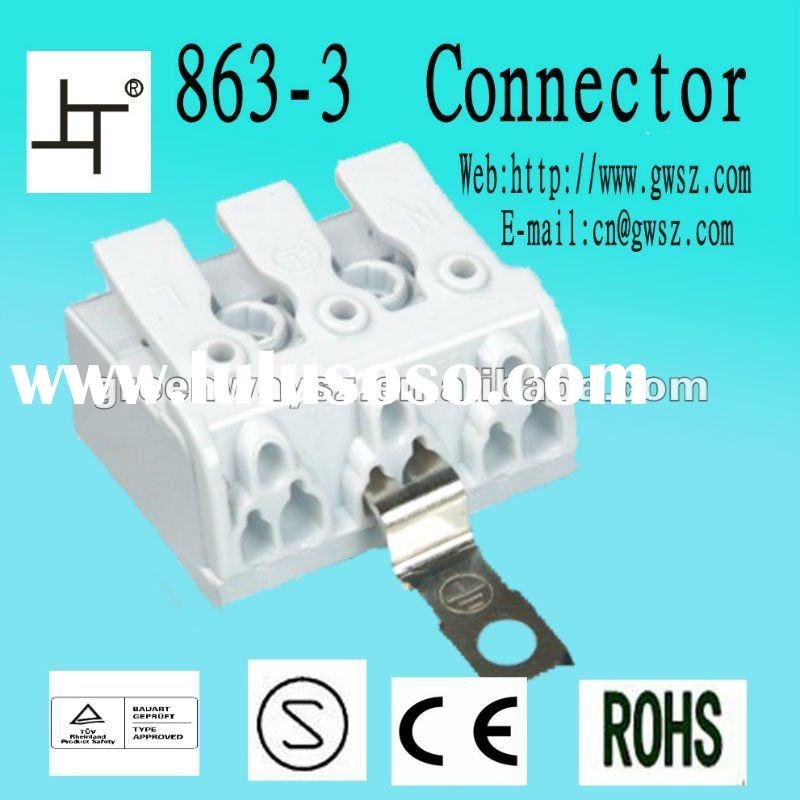 lighting terminal block auto connect wire terminal plug wire terminals