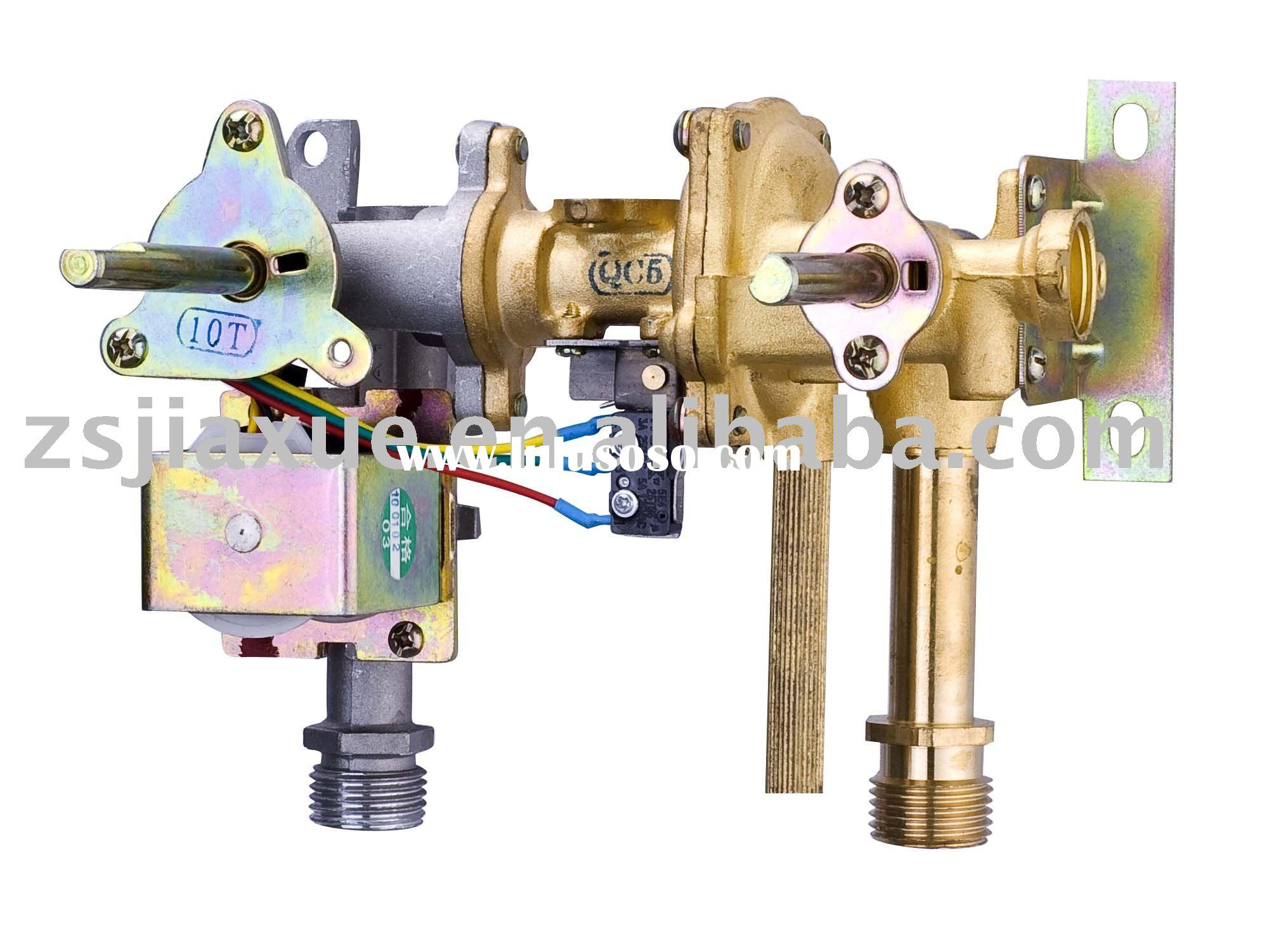 low water pressure gas water heater middle valve
