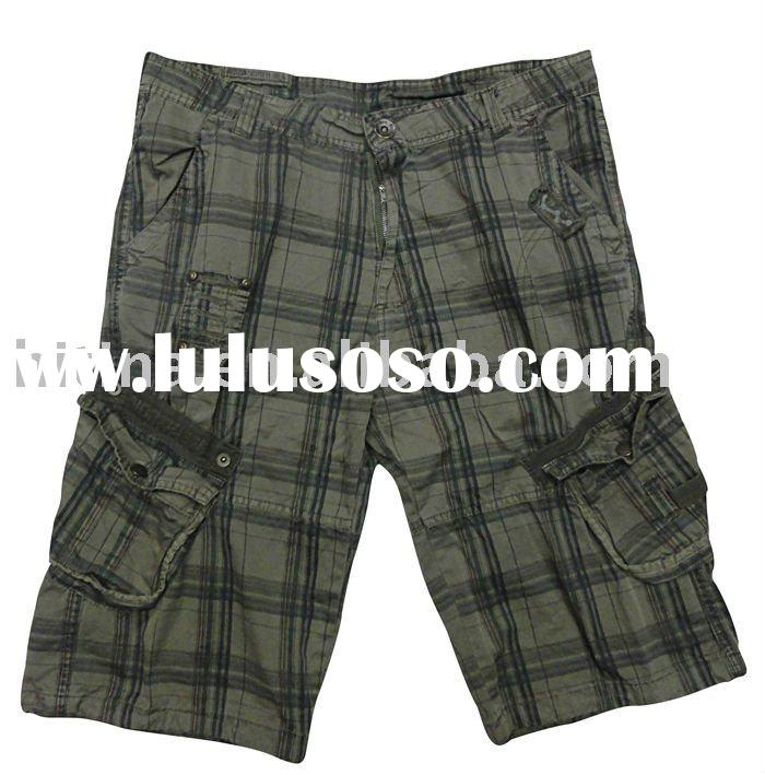 man cargo shorts summer short pants casual beach shorts