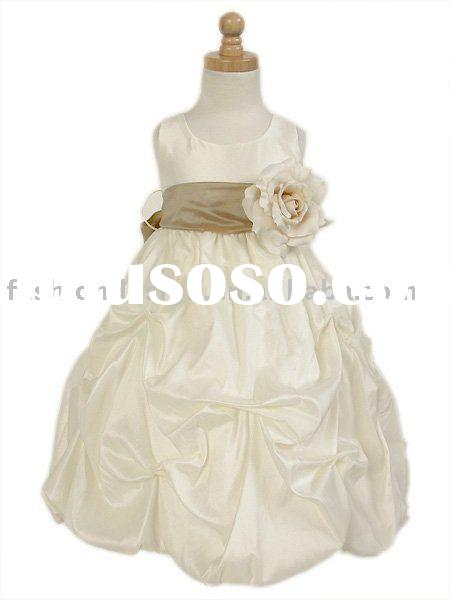 new designer flower girl dresses,little children evening dresses gs022