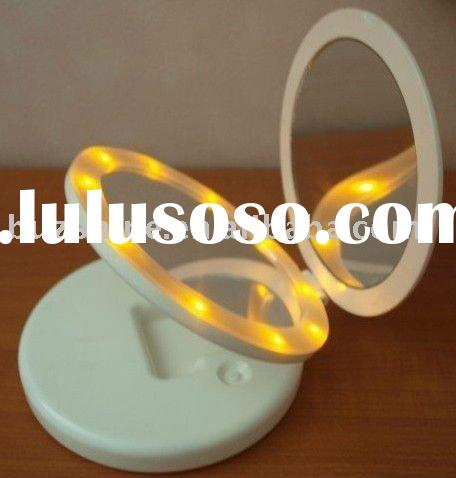 promotional mirror,make up mirror with led lights,mirror lighting
