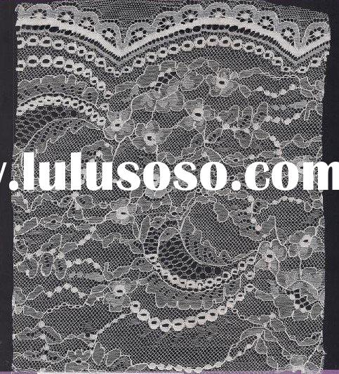 promotional white french lace fabric for skirt