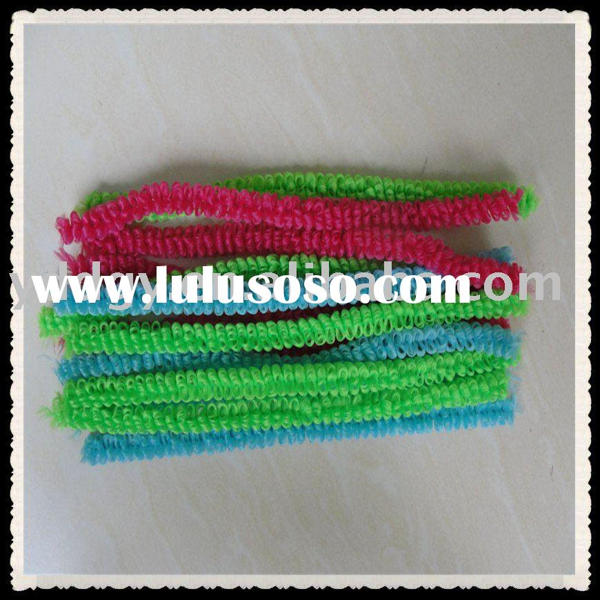 provide chenille wire ring , chenille stems decorations, pipe cleaners crafts