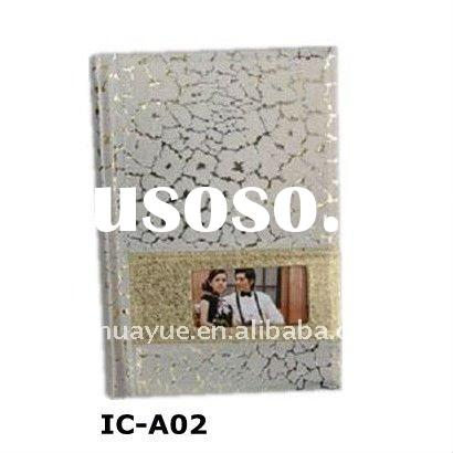 pu photo album leather photo book cover(IC-A02)