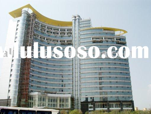 unitized system curtain wall system