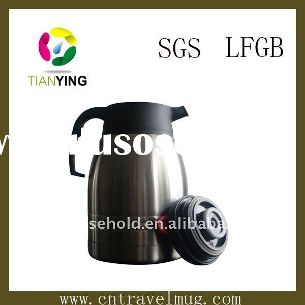 vacuum stainless steel tea and coffee pot