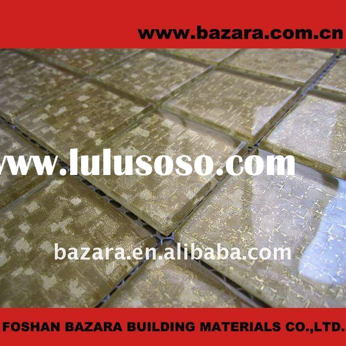 wall paper glass mosaic tile