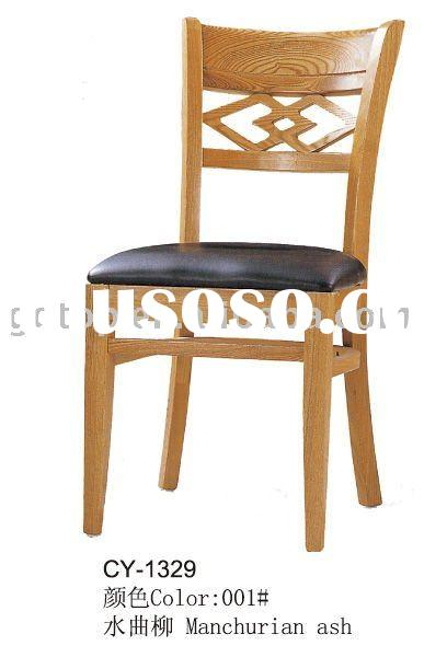wood black leather dinning chairs/cheap chairs CY-1329