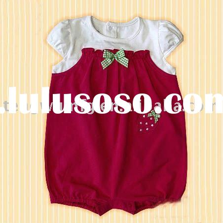 100%cotton cute baby clothing