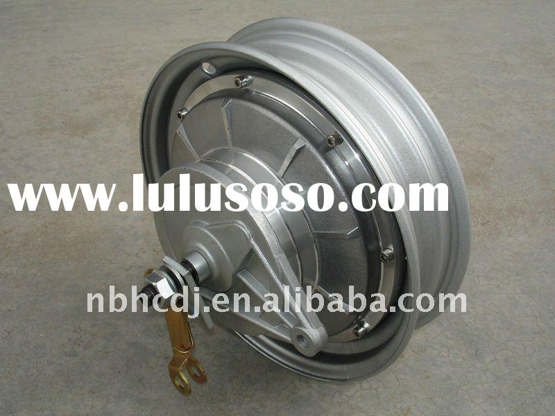"10"" SILVER MOTORCYCLE MOTOR WITH DRUM BRAKE"