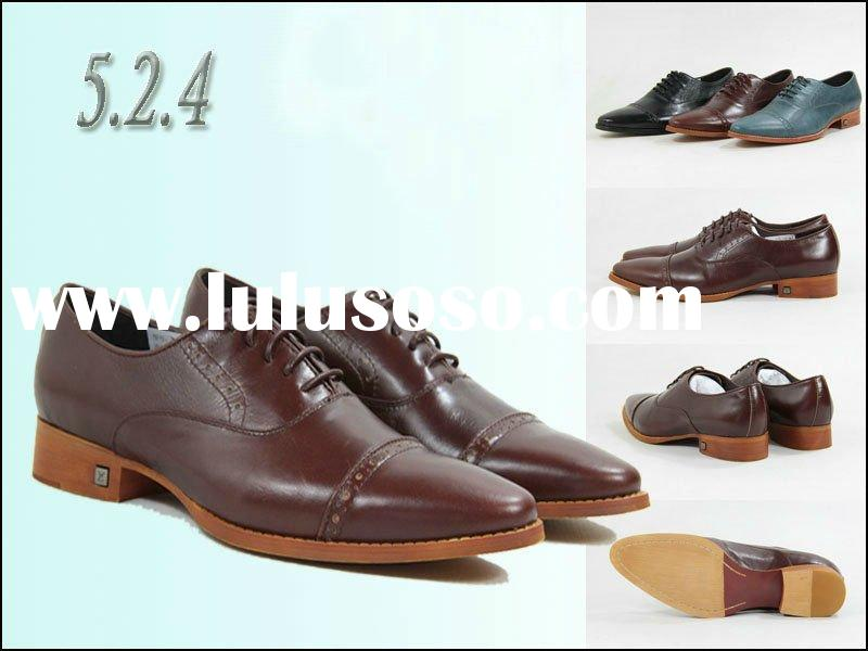 2012 latest design brand shoes for men
