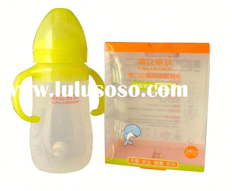 2012 new glass baby bottle silicone sleeve