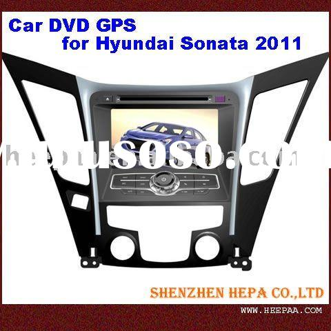 2 din 7 inch car dvd player for Hyundai Sonata 2011