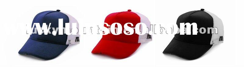 3 led light baseball caps/led cap/5panel baseball cap