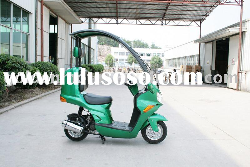 50cc eec/epa gas scooter,motorcycle,vespa,with cover/roof