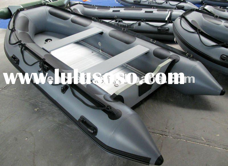 A360 Aluminum floor 3.6M zodiac inflatable pleasure boat 360 with CE