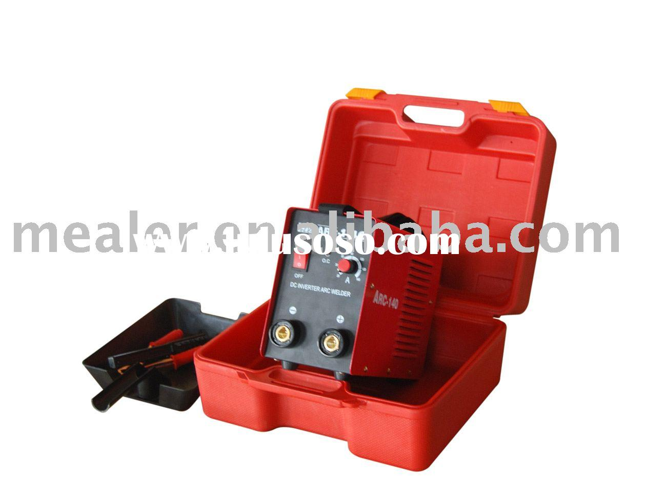 ARC-140 Inverter DC MMA portable welding machinery(with case)