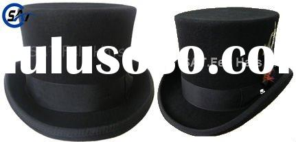 Christie's Classic Top hat with Satin lining,100 Australian smooth finish wool felt