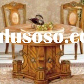 Classic dining table set marble dining table marble dining set