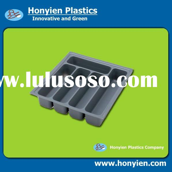 Custom ABS Plastic Cutlery Tray Drawer Made through Vacuum Forming