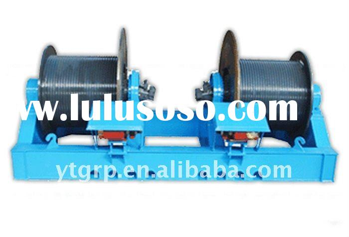 Double drum electric hydraulic winch