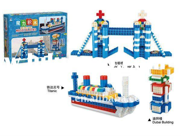 Educational Building blocks Plastic Construction Toy