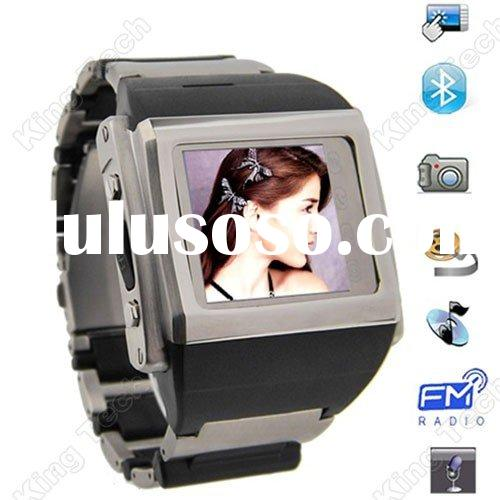 Factory Direct Sales W600T Bluetooth Single Sim Card Noble Watch Mobile Phone