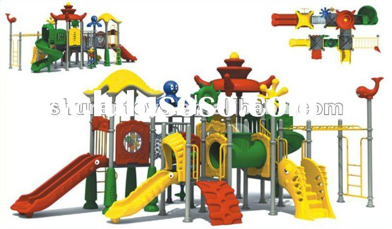 Fun and colorful outdoor play equipment for kids
