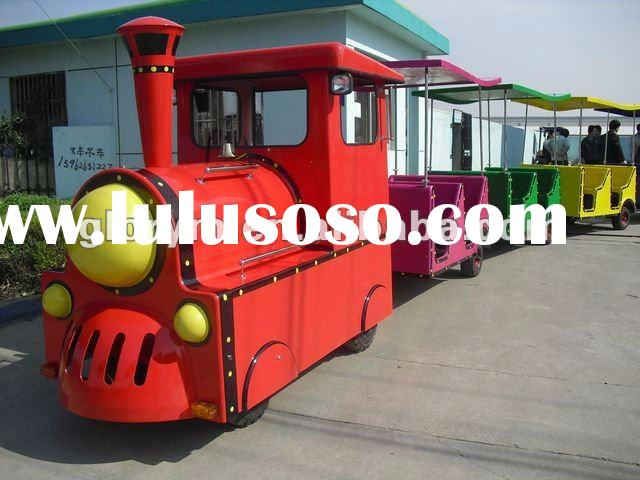 HN Glory kids electric trackless train rides-for theme park
