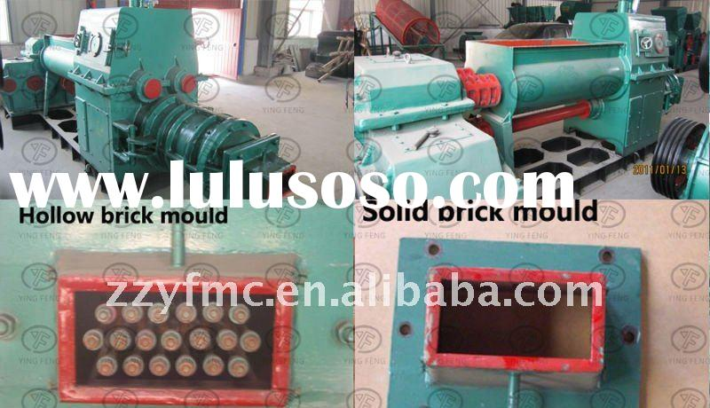 Hot sale in South Africa!!Mud brick making machine, vacuum extruder clay brick making machine