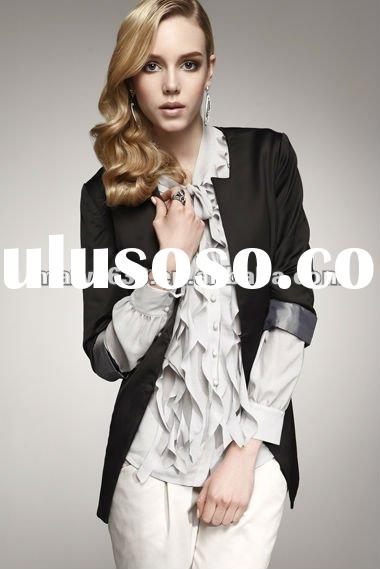 Hotsale Women's fashion Business Suit / uniform 2012 office ladies suits