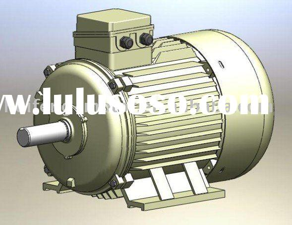 Iron Casting Housing Three Phase 3 Phase Induction Motor Electric Motors