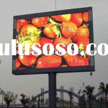 LED-HERO P10 outdoor full color led display