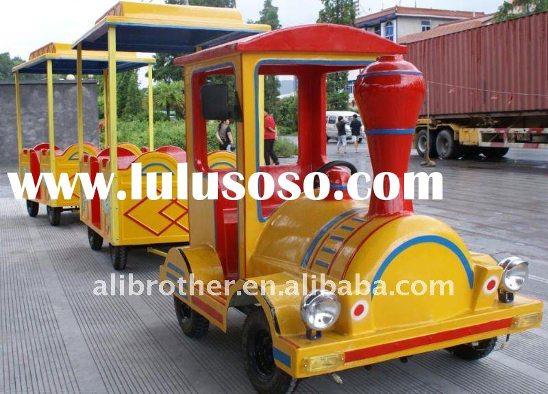 Mini Electric Trackless Train Ride for sale