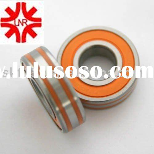 NTN deep groove ball bearing 6204 LLU red rubber sealed