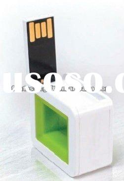 OEM cube shape 2GB - 8GB USB flash drives as gifts