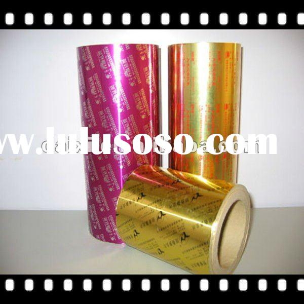 Packing material chocolate aluminium foil packaging paper