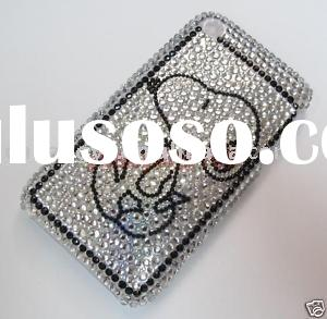 Snoopy BLING RHINESTONE CASE COVER FOR Iphone 3G 3Gs (Pay pal acceptable)