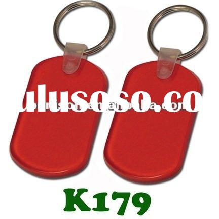 Soft PVC key tag