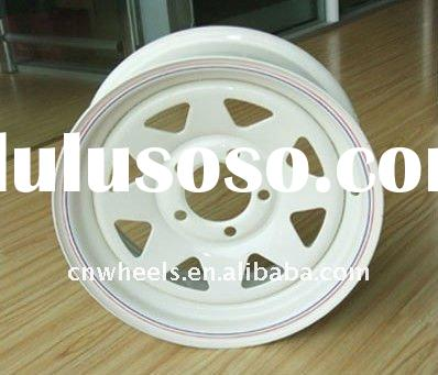 Utility small trailer wheel rims,wheel trailer 12X4,12X4.5,12X5.5