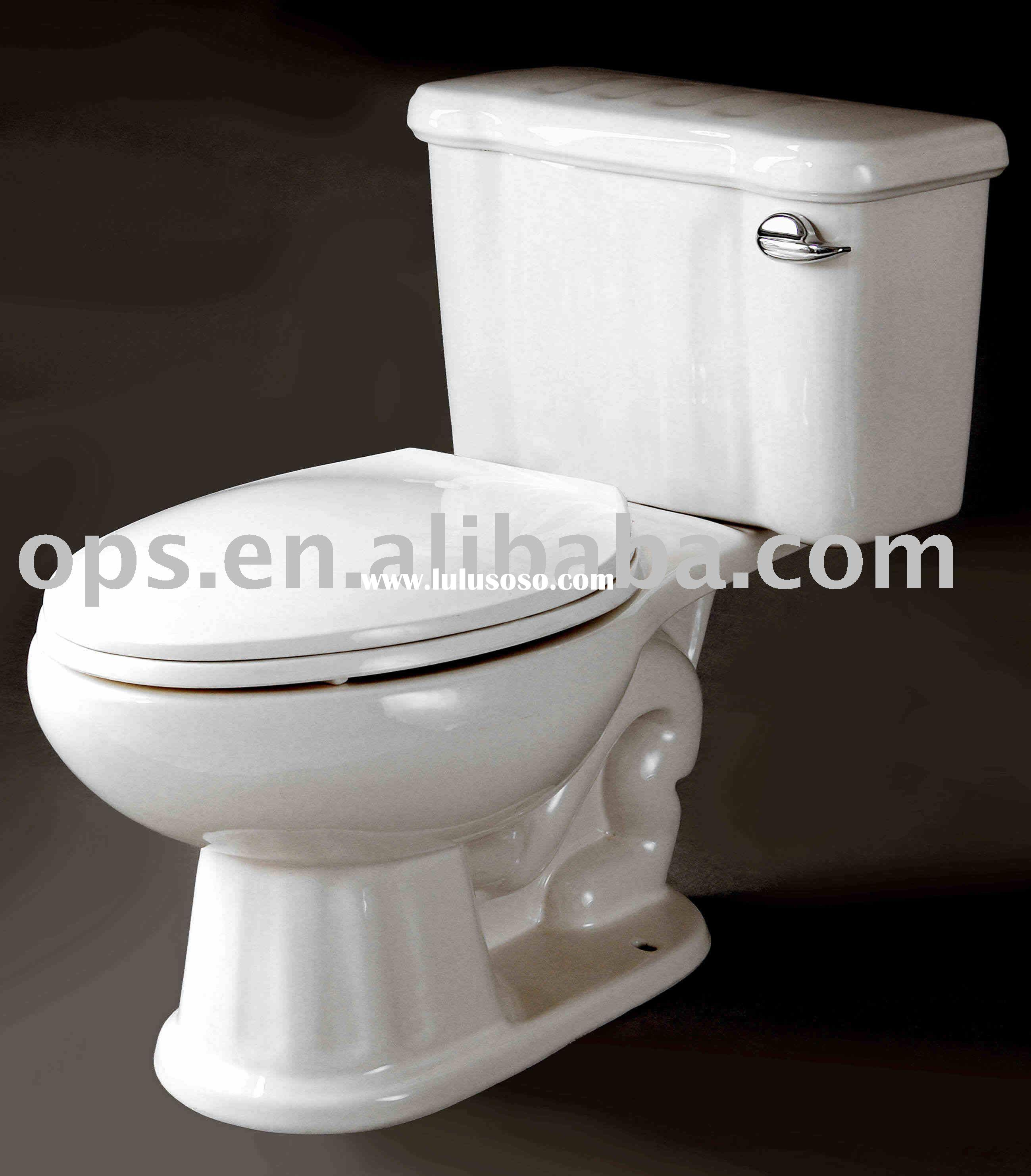 Victorian Style Two-Piece Toilet, Elongated Toilet (T/X-6813E)