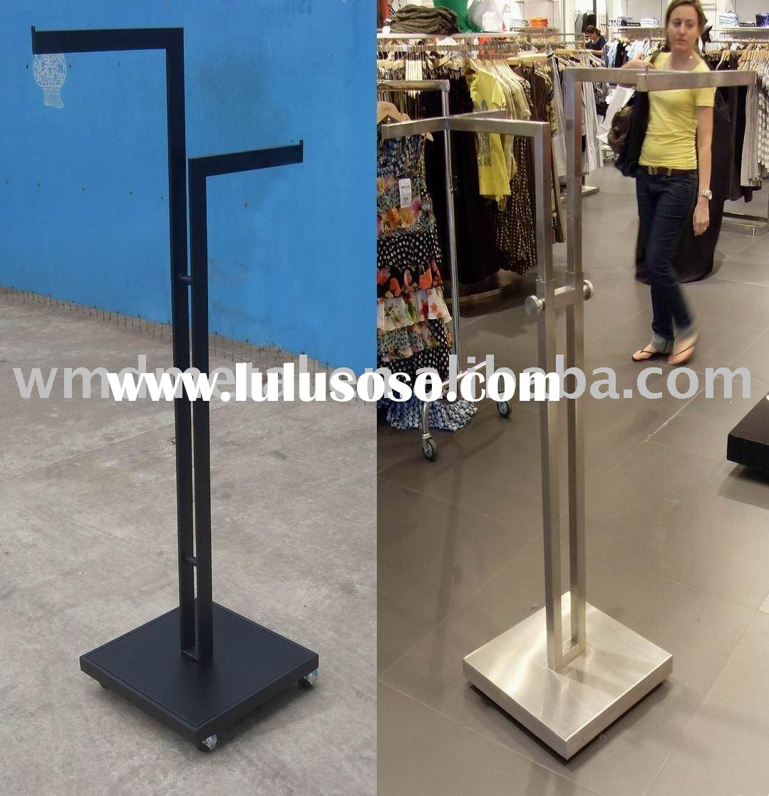 WMD05 stainless steel shop fittings,furniture,display stands,garment hanger