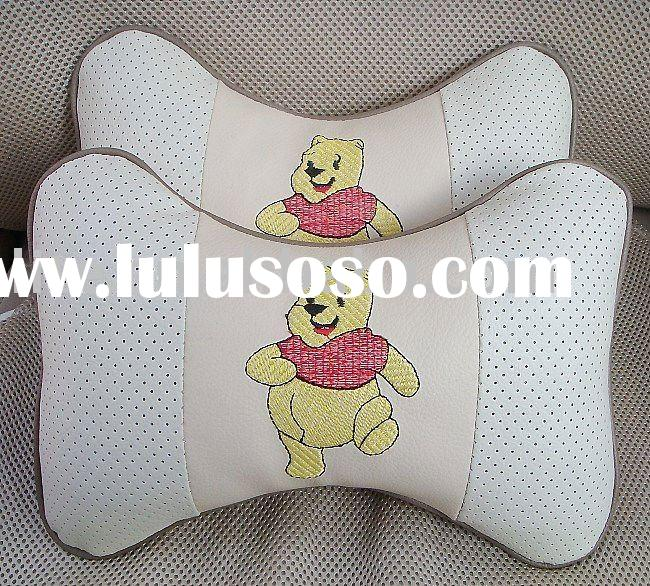 Winnie the Pooh car neck pillow car seat neck pillow inflatable car pillow car headrest pillow carto