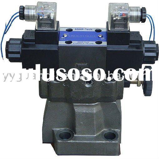 Yuken Series Hydraulic Valves Low Noise Type Solenoid Controlled Relief Valves S-BSG-03/06/10,-51/51