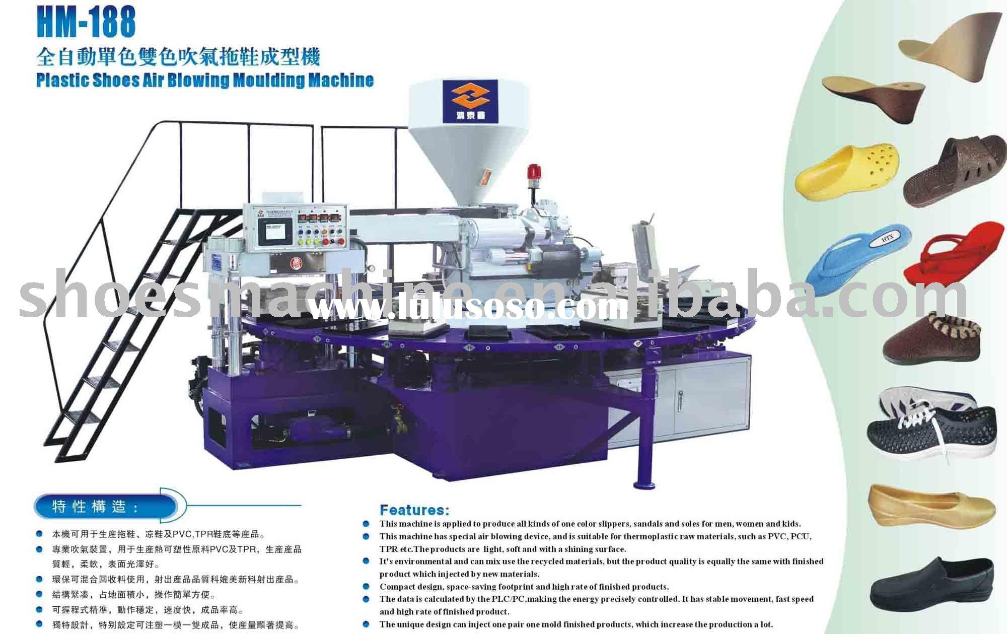 air blowing injection moulding machine