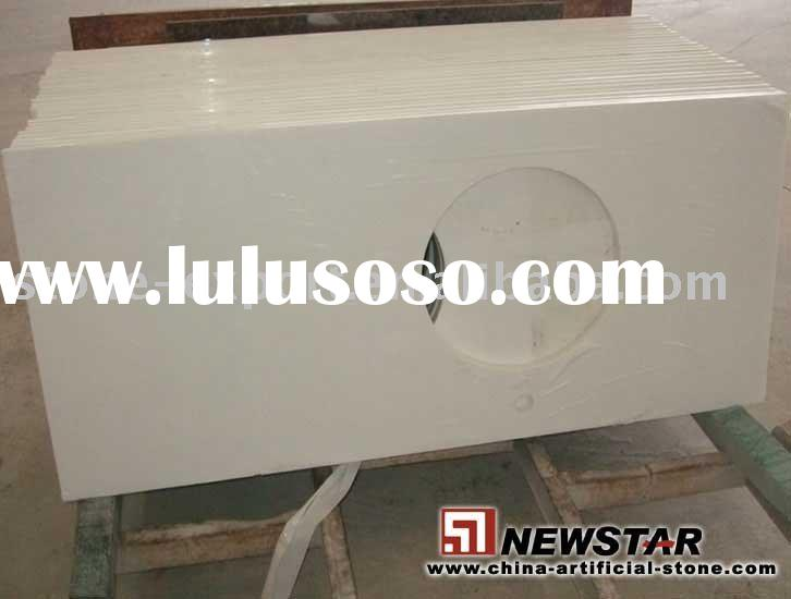 artificial marble vanity top,composite marble top