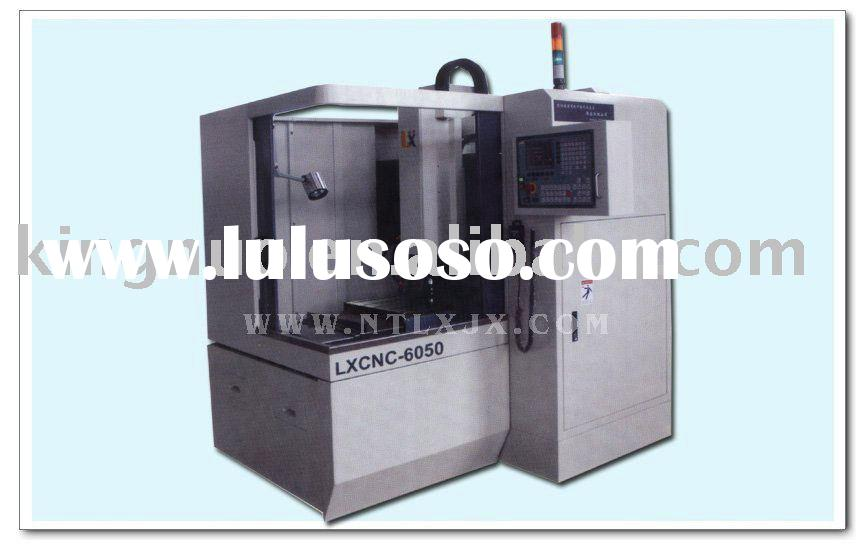 cnc carving and Milling Machine for carving patterns on metal KN-6050