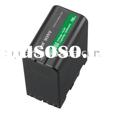 digital camera batteries BP-U60 for Sony Camcorder PMW-EX1