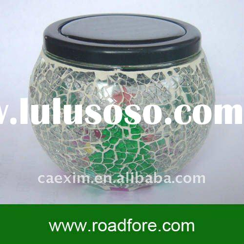 garden solar light solar garden light mosaic lamp led mosaic glass solar